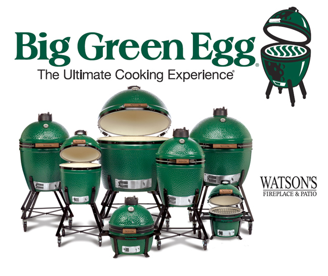Big Green Egg Grills and Accessories from Watson's Fireplace and Patio in Baltimore County, Maryland