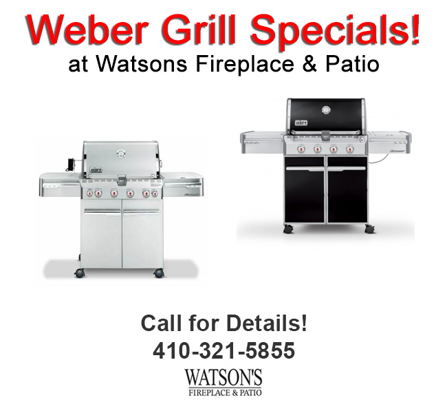 Weber Grill Special Savings in Timonium Lutherville Baltimore County Maryland