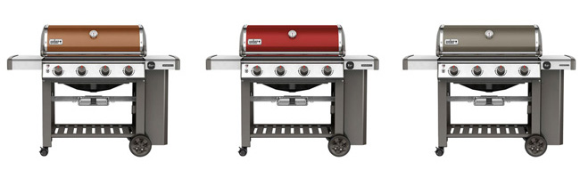 Weber Color Gas Grills at Watsons Patio and Garden Center