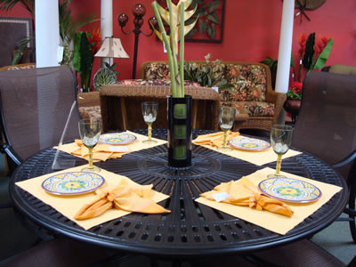 General Patio Dining Tableware
