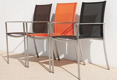 Tropitone Ravello Sling Chairs and Table Collection
