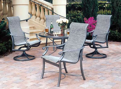 Tropitone Cast Aluminum Patio Furniture