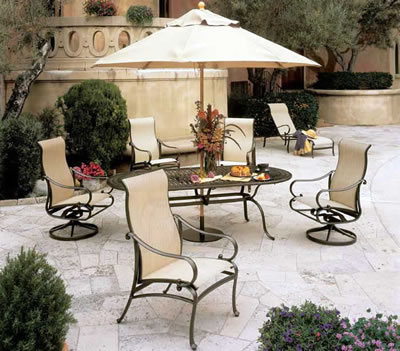 Tropitone Radiance Sling Patio Furniture