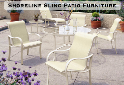 Shoreline Sling Patio Furniture
