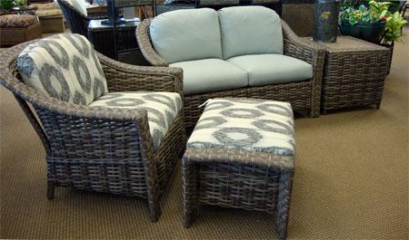 Wicker Cushion Sets