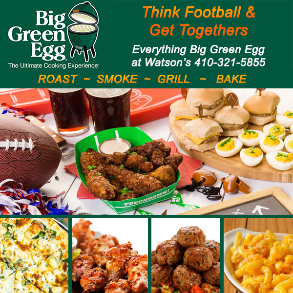 Big Green Egg Grill Holiday Sales Event at Watson's Fireplace and Patio
