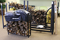Firewood Covers Metal Log Racks