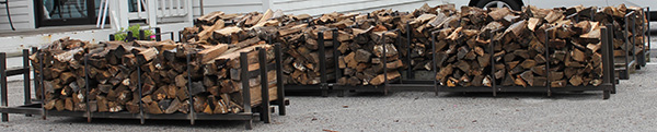 Firewood for sale at Watson's Fireplace & Patio