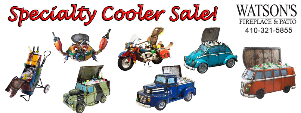 Specialty Cooler Sale. Beverage Tubs. Save. Buy from Watson's Fireplace and Patio.