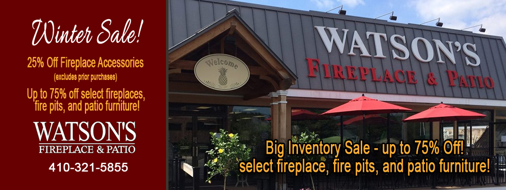 Watson S Fireplace And Patio In Lutherville Timonium Md Baltimore County Leading Winter