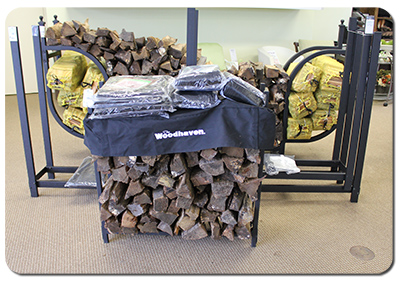 Firewood Storage Racks and Firewood Covers