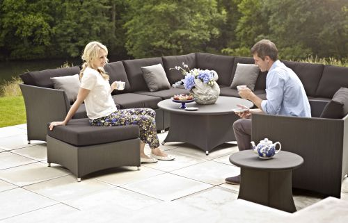 Gloster Casa Sectional Deep Seating