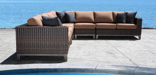 Cabana Coast Columbia Sectional - Deep Seating Patio Furniture Maryland: Watson's Fireplace And Patio