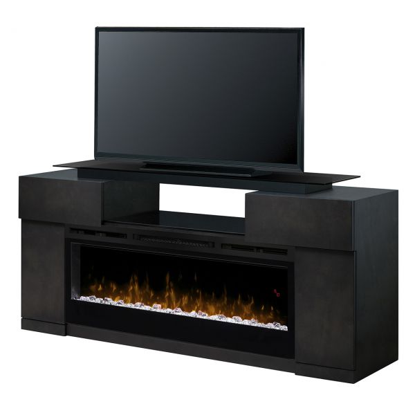 Linear Media Console - Concord Electric Fireplace
