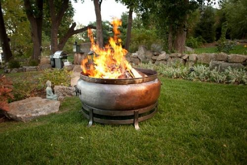 Jatex Copper Wood Burning Firepit
