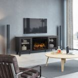 Media Console - Dean Electric Fireplace