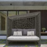 Skyline Geometry Daybed