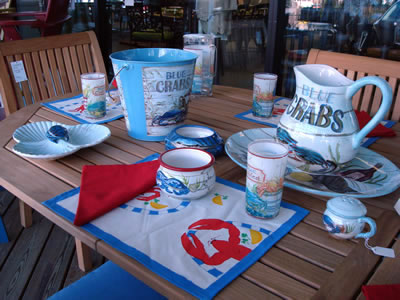 Maryland Blue Crabs Tableware
