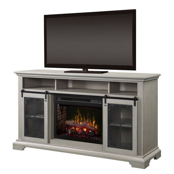 Media Console - Oliva Electric Fireplace