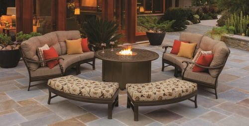 Tropitone Ravello Crescent Deep Seating