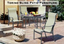 Torino Sling Patio Furniture
