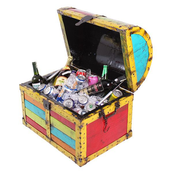 Buried Treasure Chest Drinks Cooler / Storage Chest