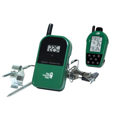 Big Green Egg Grill Thermometer Dual-Probe Wireless