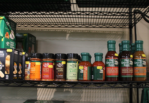 Big Green Egg Grill Sauces Spices Flavors