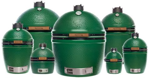 Big Green Egg Ceramic Kamado Style Charcoal Grill