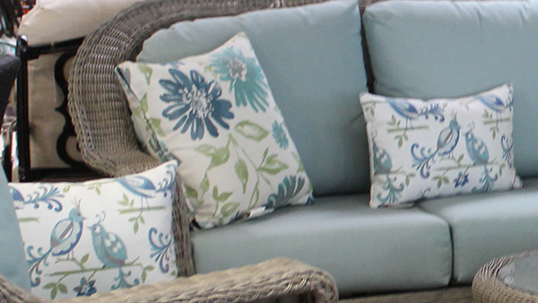 Birds and Flowers Throw Pillows Mix and Match