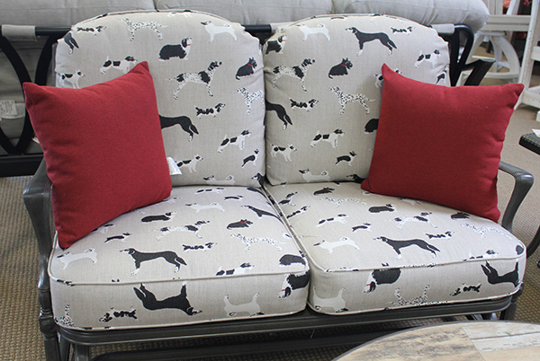 Dog Themed Throw Pillows and Replacement Cushions