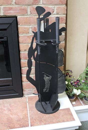 Fireplace Tool Set Golf Clubs Gifts for Men