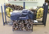 Firewood Metal Racks and Covers