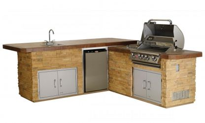 Custom Kitchen Gourmet BBQ