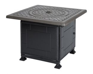 Gensun Grand Terrace Square Gas Firepit