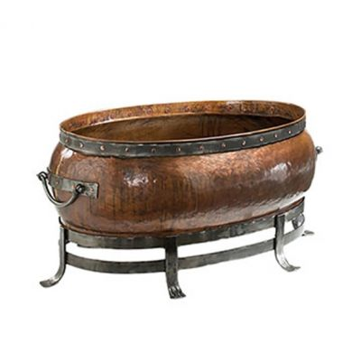 "BLACKSTONE OVAL COPPER FIRE PIT 52"" Large"