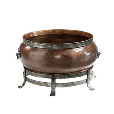"BLACKSTONE ROUND COPPER FIRE PIT 44"" Large"