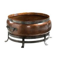 "BLACKSTONE ROUND COPPER FIRE PIT 54"" XLarge"