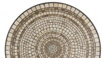 KNF NEILLE OLSON MOSAIC OUTDOOR TABLE - ELEMENTS MARBLE STONE