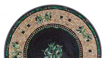 KNF NEILLE OLSON MOSAIC OUTDOOR TABLE - BLACK OLIVES