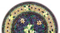 KNF NEILLE OLSON MOSAIC OUTDOOR TABLE - TUSCAN LEMONS