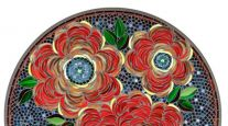 KNF NEILLE OLSON MOSAIC OUTDOOR TABLE - ZINNIA