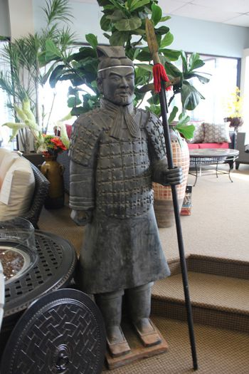 Chinese Warrior Like Terracotta Statue
