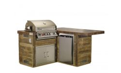 Custom Kitchen Little BBQ