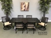 In Stock Patio Furniture #11 Veranda Classics Simone Dining Set