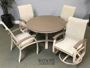 In Stock Patio Furniture #17 Telescope Belle Isle Dining Set