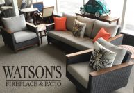 In Stock Deep Seating Patio Furniture Set #21 Jensen Coral Collection