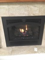 Sale 564 SS Deluxe 20k btu Green Smart Gas Fireplace Burn Unit